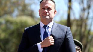Le Premier ministre Leo Varadkar. Des propos de la candidate Verona Murphy du parti Fine Gael ont suscité l'indignation.
