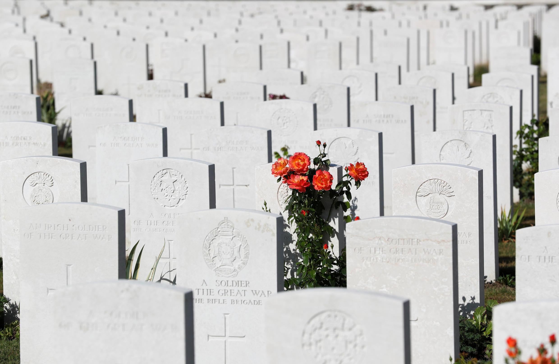 Британское военное кладбище «Тайн Кот» в Бельгии