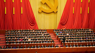 2017年10月18日,中共19次全国代表大会在北京开幕。中共总书记习近平在开幕式上讲话。