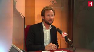 Boris Vallaud, député socialiste lors de l'invité du matin du 30 août 2018 sur RFI.