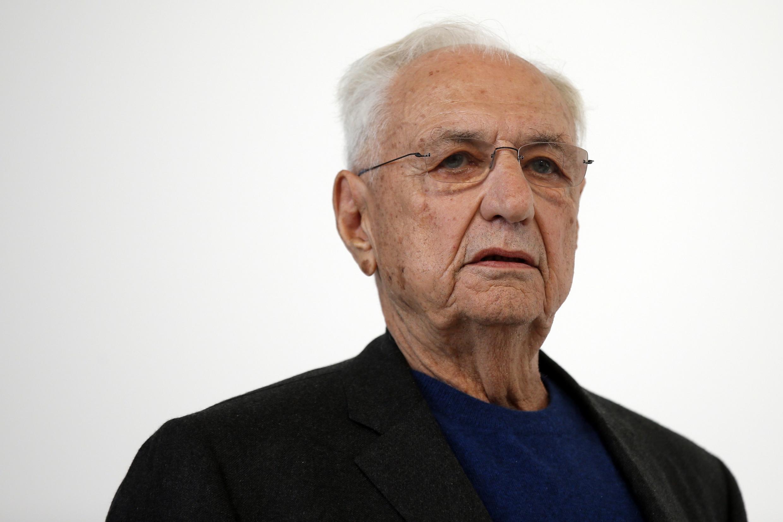 L'architecte américain Frank Gehry a construit la Fondation Louis Vuitton à Paris.