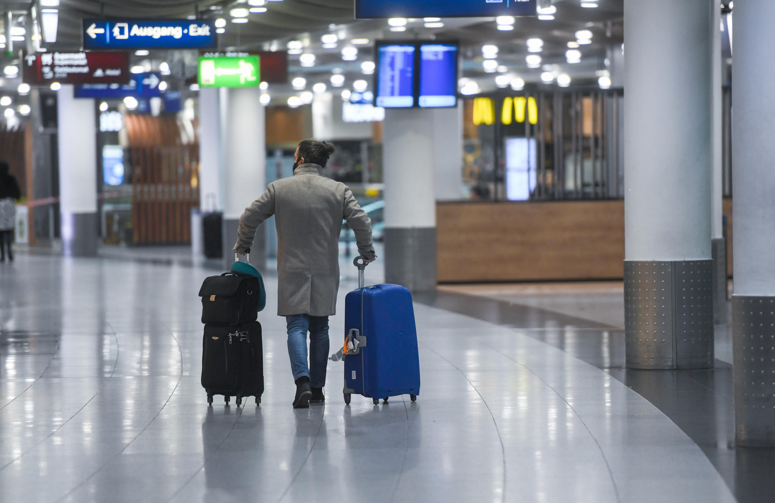 More than two dozen countries from India to Argentina suspended flights from the UK offering a bleak reminder that the pandemic is far from over