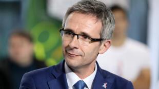 Stéphane Troussel, président du département de la Seine-Saint-Denis, secrétaire national du Parti socialiste.
