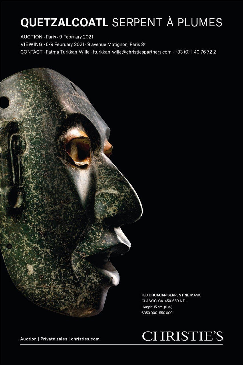 Christies poster auction Teotihuacan