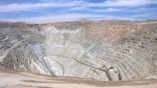 La mina Chuquicamata, en Chile.