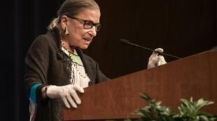 美國自由派的大法官金斯柏格(Ruth Bader Ginsburg)星期五因癌症辭世