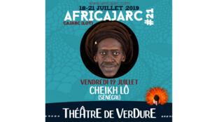 Cheikh Lô est présent pour la 21e édition d'Africajarc.
