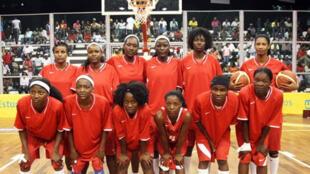 Selecção angolana de basquetebol