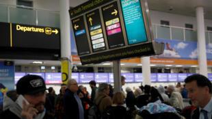 В субботу, 22 декабря, работа лондонского аэропорта Гатвик вернулась в нормальное русло