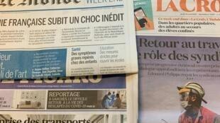 Perspectivas de crise económica em França e no mundo