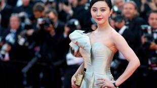 Nữ diễn viên Trung Quốc Phạm Băng Băng tại Liên hoan điện ảnh Cannes lần thứ 71 ở Pháp, ngày 11/05/2018.