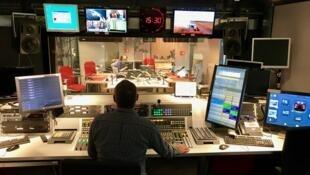 Le flash de 15h30 dans le studio 31 de RFI le 23 septembre 2017.