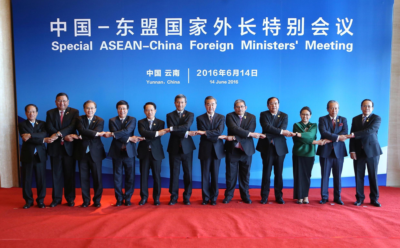Hội nghị ngoại trưởng đặc biệt Trung Quốc-ASEAN tại Vân Nam, Trung Quốc, ngày 14/06/2016.