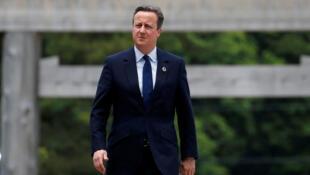Le Premier ministre britannique David Cameron, en marge d'une réunion du G7 au Japon, le 26 mai 2016.