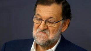 Le Premier ministre sortant Mariano Rajoy.