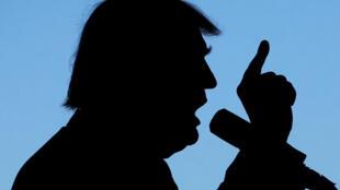 Ứng viên tranh cử tổng thống của đảng Cộng Hòa, Donald Trump, trong cuộc vận động tại Grand Junction, bang Colorado, ngày 18/10/2016.
