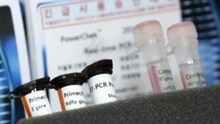 网传韩国新冠病毒测试剂