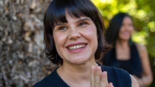 A diretora brasileira Maya Da-Rin.