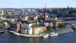 Stockholm, capitale de la Suède.