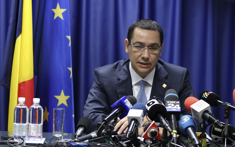 Thủ tướng Rumani Victor Ponta (REUTERS)