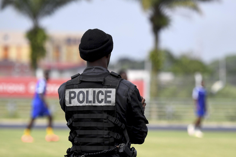 Un policier gabonais. (Image d'illustration).