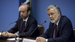 O diretor do Departamento de Meio Ambiente do Itamaraty, Raphael Azeredo, e o embaixador José Antonio Marcondes de Carvalho, negociador-chefe do Brasil em Lima, falam sobre a Conferência de Mudança no Clima da ONU.