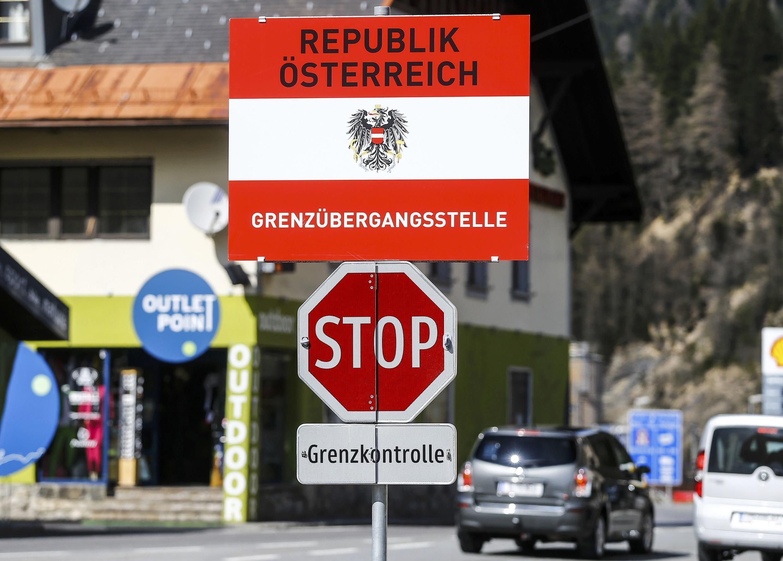 Мигранты попадают в Австрию, в том числе, со стороны Италии. На фото: итало-австрийская граница