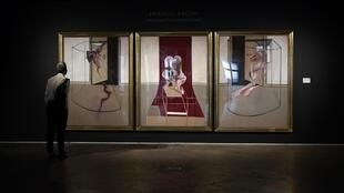 "A triptych by Francis Bacon, inspired by Aeschylus's ""Oresteia,"" is one of 28 large-scale triptychs painted by the British artist between 1962 and 1991"
