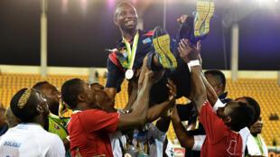 Le Congolais Florent Ibenge durant la CAN 2015.