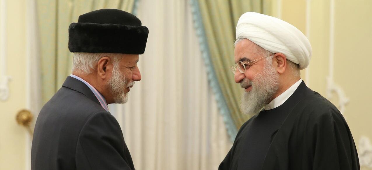 حسن روحانی و وزیر خارجۀ عمان