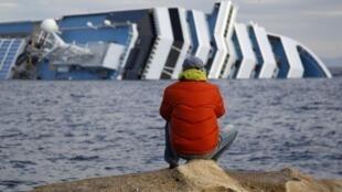 Costa Concordia, 18 января 2012 года