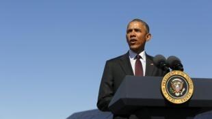Президент США Барак Обама, 3 апреля 2015 г.