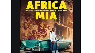 Affiche du film documentaire «Africa Mia» de Richard Minier et Édouard Salier.