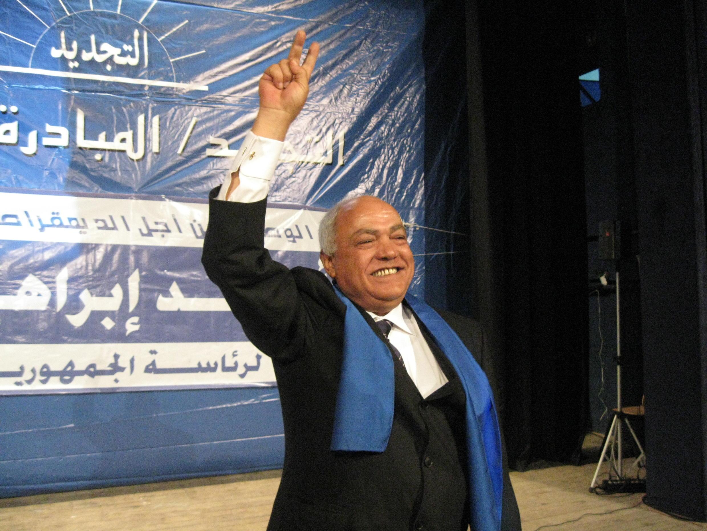 Ahmed Brahim, leader du parti Ettajdid