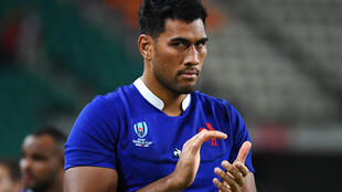 Sebastien Vahaamahina scored France's first try in the quarter-final against Wales.