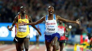 Le Britannique Mohamed Farah.