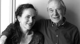 Agnès Desarthe et René Urtreger.