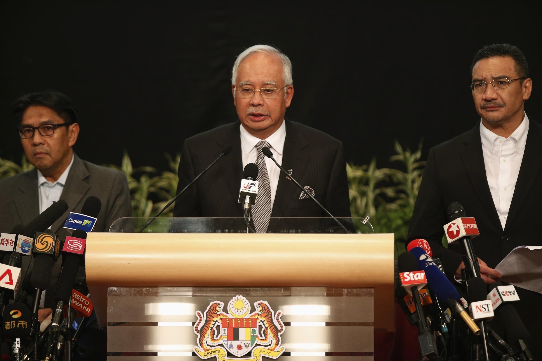 lre PM malaisien Najib Razak,