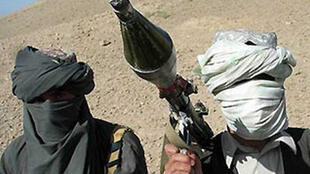 Baadhi ya wapiganaji wa kundi la kigaidi la Al qaeda,nchini Yemen.