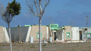 L'ancien quartier des invités de Mouammar Kadhafi, à Syrte.