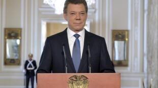 Presidente Juan Manuel Santos anuncia início de diálogos para um acordo pacífico com as FARC