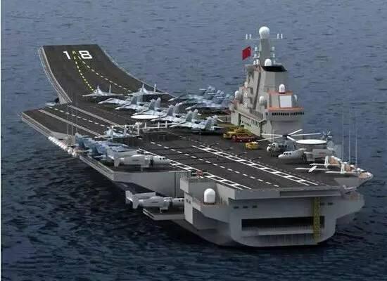 中国航母山东号