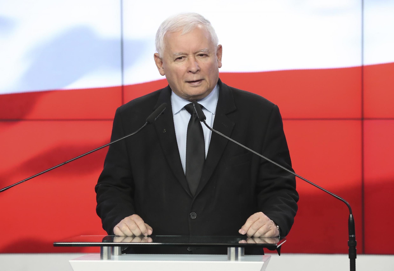 Jaroslaw Kaczinski, el 26 de septiembre de 2020.