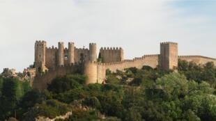 L'un des décors du film : le château d'Óbidos, au Portugal.
