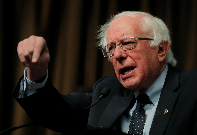 Le sénateur américain Bernie Sanders est à l'origine de cette initiative rassemblant 300 parlementaires dans le monde pour exiger l'annulation de la dette.