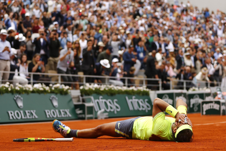 Надаль — первый теннисист, которому удалось 12 раз завоевать титул на одном и том же турнире «Большого шлема».