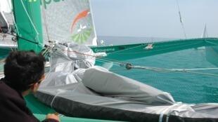 Le bateau Groupama