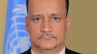 Ismail Ould Cheikh Ahmed , responsable de la United Nations Mission for Ebola Emergency Response (l'UNMEER).