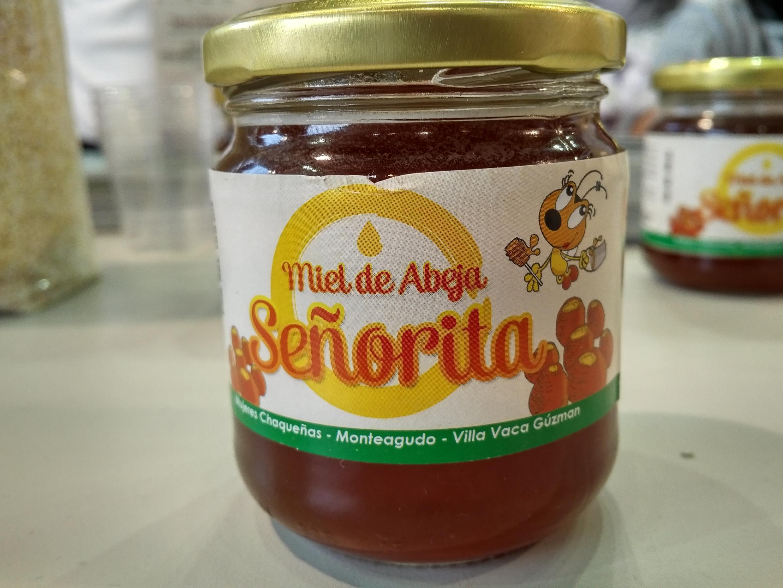 Miel Señorita de las abejas meliponas del Chaco, Bolivia.