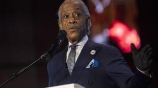 Al Sharpton lors d'une cérémonie d'hommage à George Floyd le 4 juin 2020.